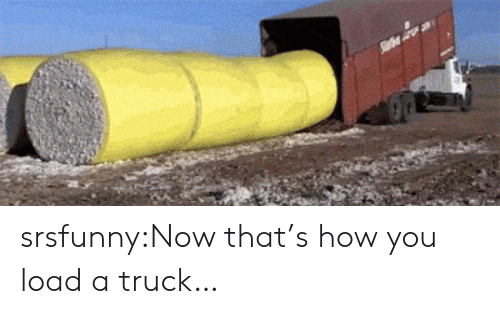 Now Thats: srsfunny:Now that's how you load a truck…