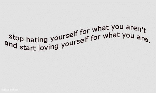 Aing: St  aing yourself for what you  cart loving yourself for what yo  ar  ח'