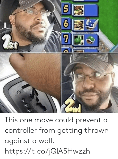 thrown: ST This one move could prevent a controller from getting thrown against a wall. https://t.co/jQlA5Hwzzh