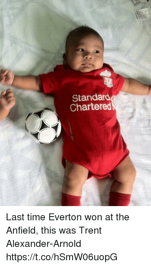 trent: Standard  Chartered Last time Everton won at the Anfield, this was Trent Alexander-Arnold https://t.co/hSmW06uopG