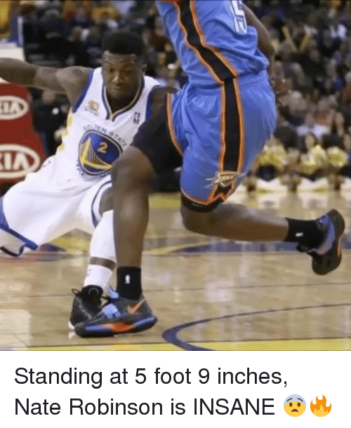 Nate Robinson: Standing at 5 foot 9 inches, Nate Robinson is INSANE 😨🔥