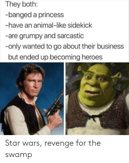 wars: Star wars, revenge for the swamp