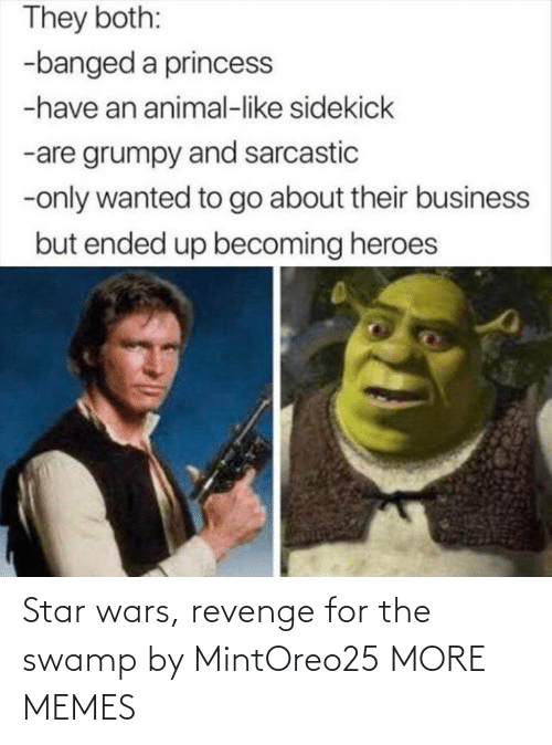 Star Wars: Star wars, revenge for the swamp by MintOreo25 MORE MEMES