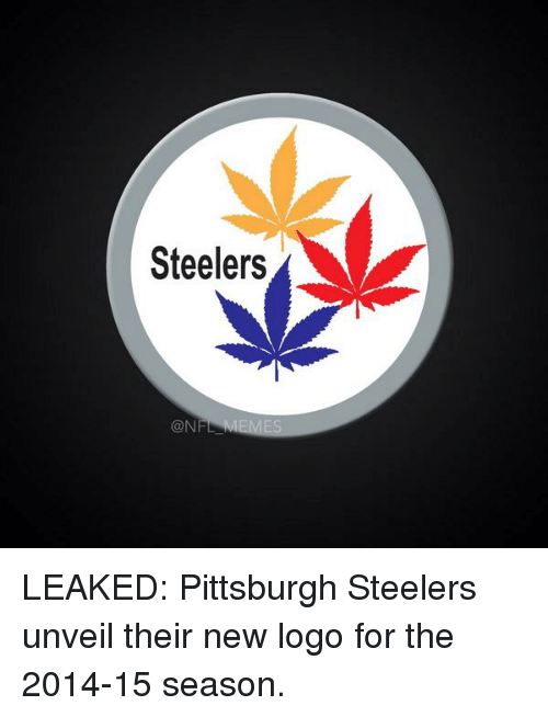Pittsburgh Steeler: Steelers  CON LEAKED: Pittsburgh Steelers unveil their new logo for the 2014-15 season.