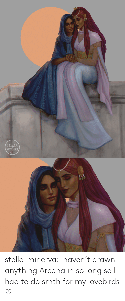 haven: stella-minerva:I haven't drawn anything Arcana in so long so I had to do smth for my lovebirds ♡