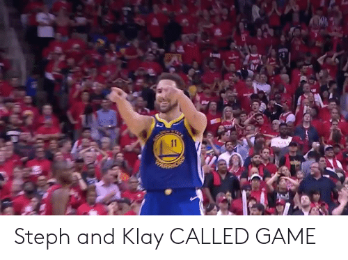 ballmemes.com: Steph and Klay CALLED GAME