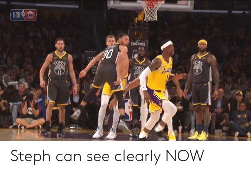 Can, Now, and  See: Steph can see clearly NOW