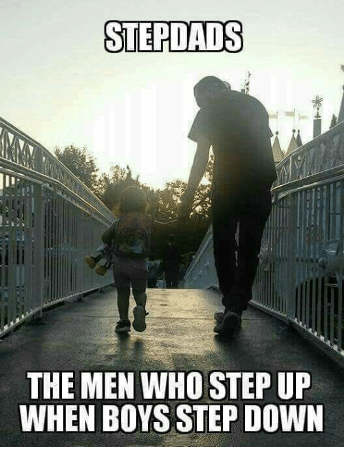step ups: STEPLADS  THE MEN WHO STEP UP  WHEN BOYS STEP DOWN