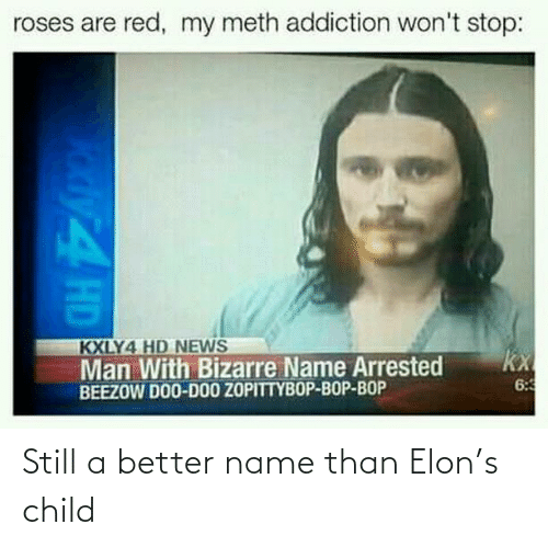 elon: Still a better name than Elon's child