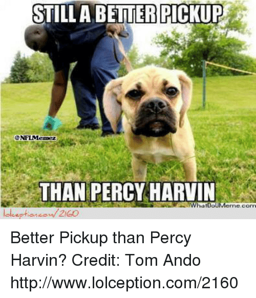 Nfl, Http, and Com: STILL A BETTER PICKUP  THAN PERCY HARVIN  atDoUMenne.c Better Pickup than Percy Harvin?