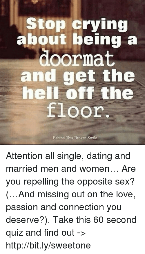 How to end dating a married man