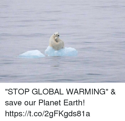 "earthing: ""STOP GLOBAL WARMING"" & save our Planet Earth! https://t.co/2gFKgds81a"