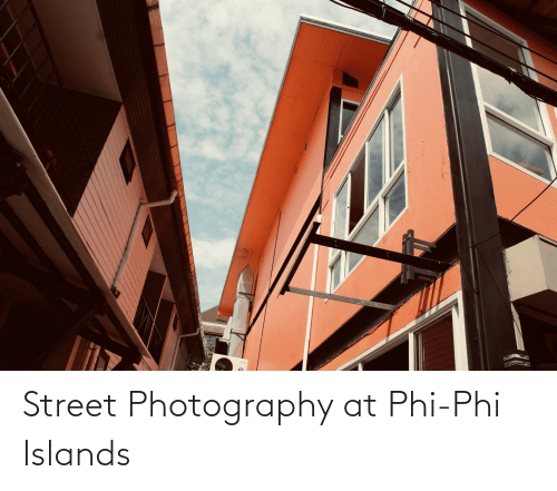 phi: Street Photography at Phi-Phi Islands