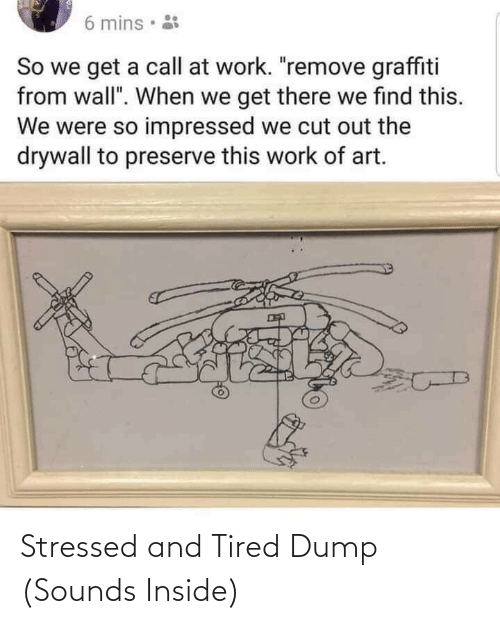tired: Stressed and Tired Dump (Sounds Inside)