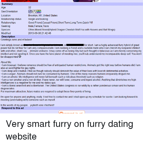 Beste Furry Dating-Website