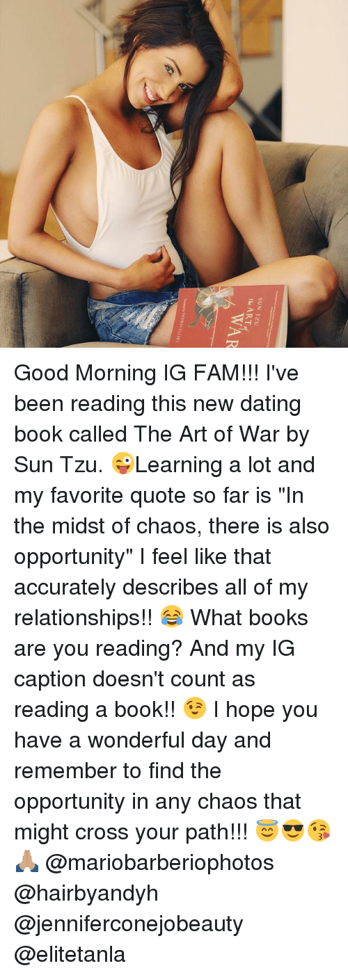 The art of war for dating book