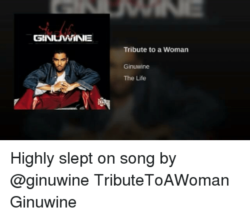 SuNMMIINE Tribute to a Woman Ginuwine the Life Highly Slept on Song