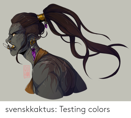 colors: svenskkaktus:  Testing colors