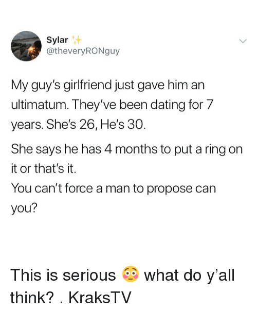 Dating 7 months