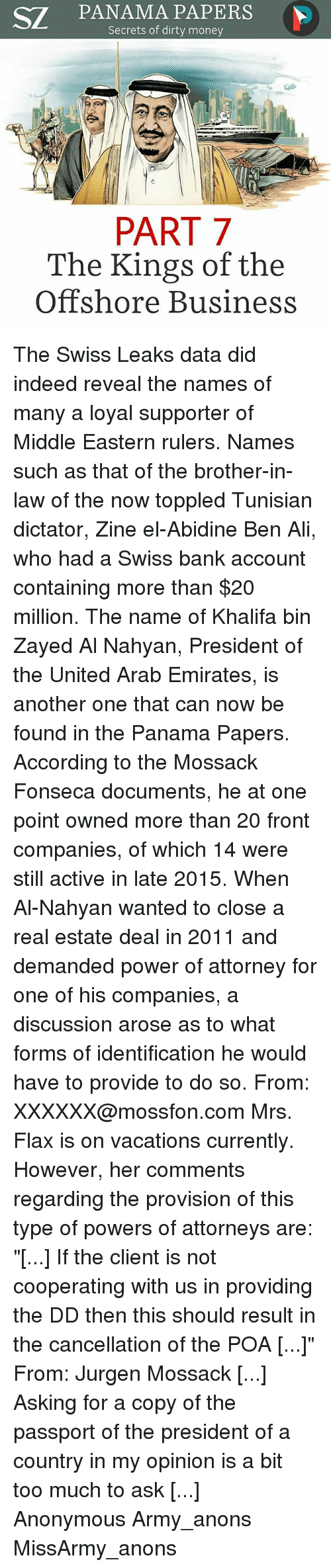 Wjc llc panama papers