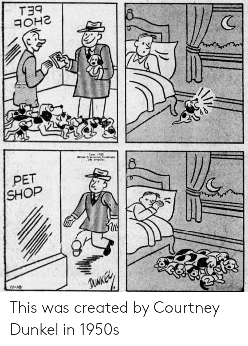 courtney: T39  (C  PET  SHOP  2  I-10 This was created by Courtney Dunkel in 1950s