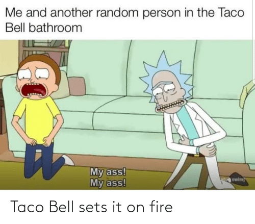 taco: Taco Bell sets it on fire
