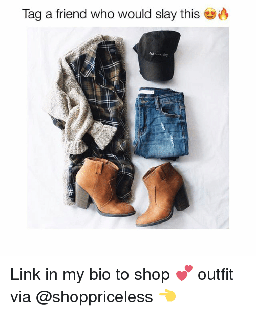 Friends, Link, and Girl Memes: Tag a friend who would slay this Link in my bio to shop 💕 outfit via @shoppriceless 👈