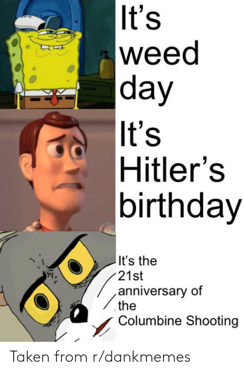 Taken, History, and From: Taken from r/dankmemes