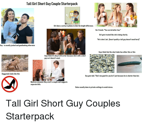 25 Best Memes About Tall Girl Short Guy  Tall Girl -3002