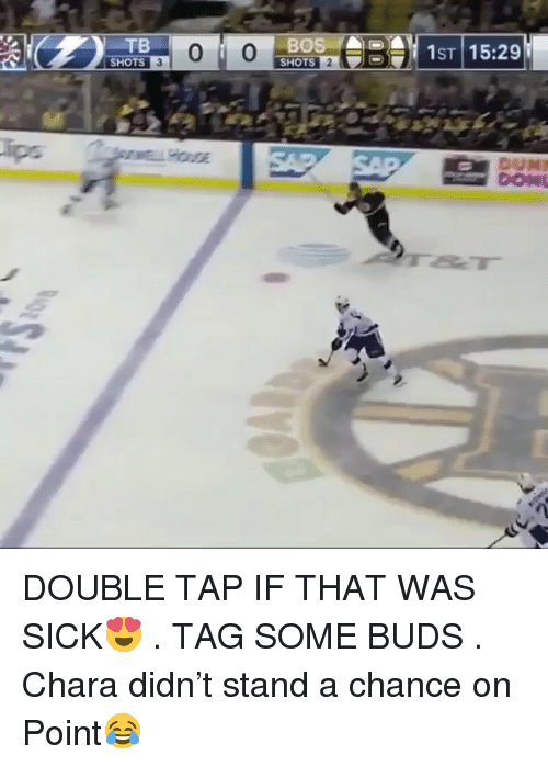 Memes, Sick, and 🤖: TB  SHOTS  BO  SHOTS  ST115:29 DOUBLE TAP IF THAT WAS SICK😍 . TAG SOME BUDS . Chara didn't stand a chance on Point😂