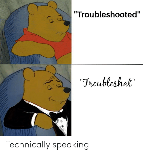 technically: Technically speaking