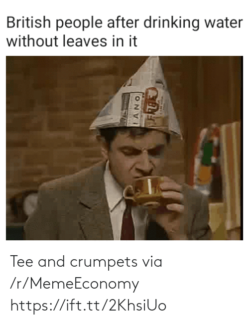 Ift Tt: Tee and crumpets via /r/MemeEconomy https://ift.tt/2KhsiUo