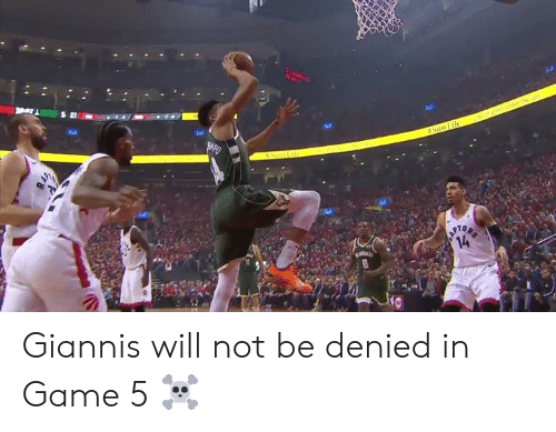 Game, Will, and Denied: Tel  10 Giannis will not be denied in Game 5 ☠️