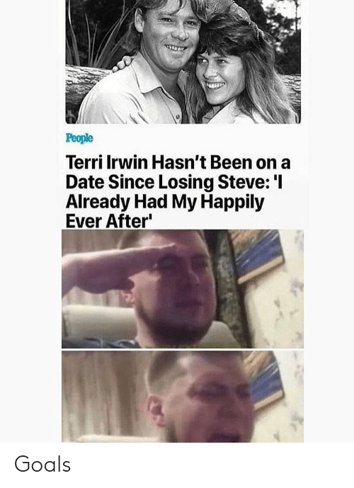 Terri: Terri Irwin Hasn't Been on a  Date Since Losing Steve:'I  Already Had My Happily  Ever After Goals