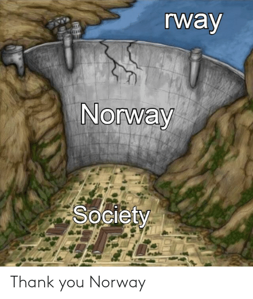 Norway: Thank you Norway