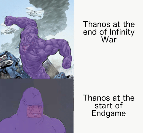 The Infinity Chancla Will Bind Us All | Infinity Meme on