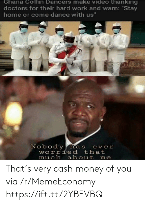 Ift Tt: That's very cash money of you via /r/MemeEconomy https://ift.tt/2YBEVBQ