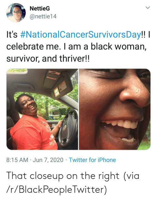 R Blackpeopletwitter: That closeup on the right (via /r/BlackPeopleTwitter)