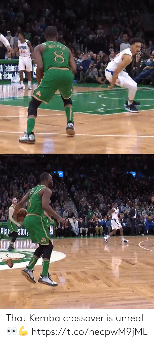 unreal: That Kemba crossover is unreal👀💪 https://t.co/necpwM9jML