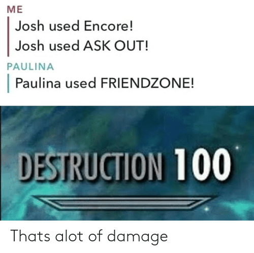 Thats: Thats alot of damage