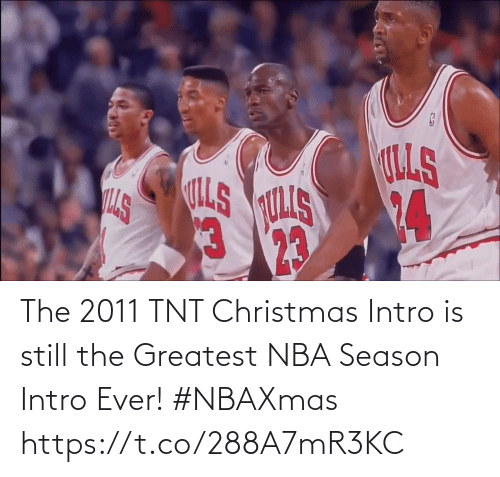 NBA: The 2011 TNT Christmas Intro is still the Greatest NBA Season Intro Ever! #NBAXmas    https://t.co/288A7mR3KC