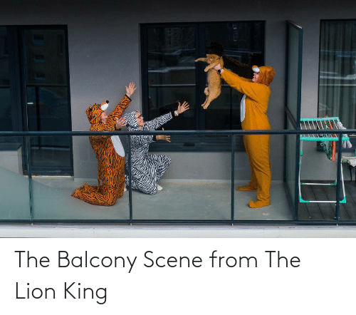 Lion King: The Balcony Scene from The Lion King