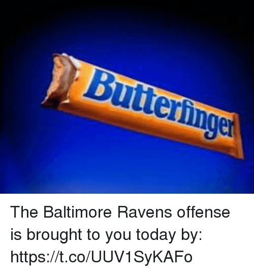 Baltimore Ravens: The Baltimore Ravens offense is brought to you today by: https://t.co/UUV1SyKAFo
