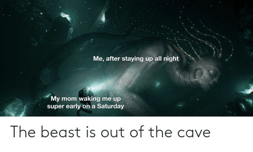the cave: The beast is out of the cave