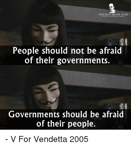 Memes And V For Vendetta THE BEST MOVIE LINES People Should Not