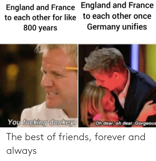 always: The best of friends, forever and always