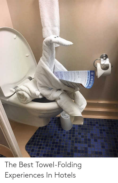 Experiences: The Best Towel-Folding Experiences In Hotels