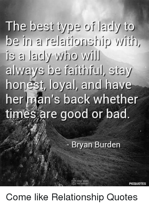 The Best Type of Lady to Be in a Relationship With Is a Lady ...