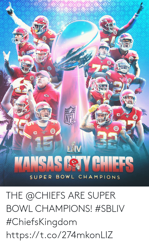 super: THE @CHIEFS ARE SUPER BOWL CHAMPIONS! #SBLIV #ChiefsKingdom https://t.co/274mkonLIZ