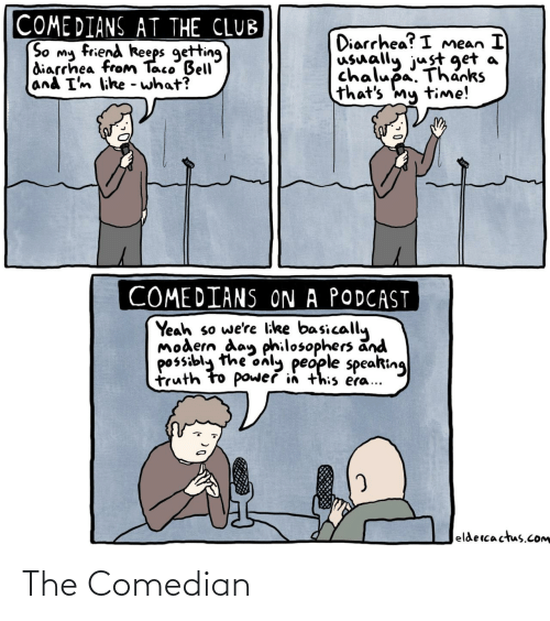 comedian: The Comedian